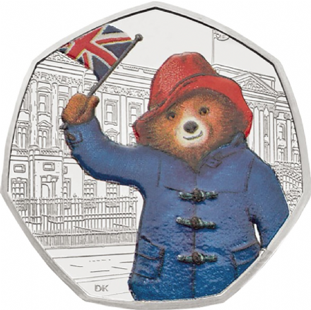 2018 Paddington Buckingham Palace  50p Silver Proof